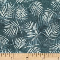 Hoffman Bali Batik Palm Leaves Smoke