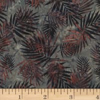 Hoffman Bali Batik Palm Leaves Hippo