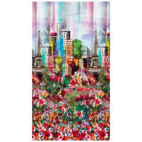"Hoffman Digital Wanderlust 18"" Paris Panel Spring"