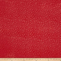 Hoffman Me+You Indah Batiks Large Dots Coral