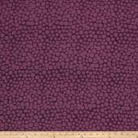 Hoffman Me+You Indah Batiks Large Dots Purple Haze