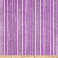 Hoffman Bali Batiks Stripes Punch