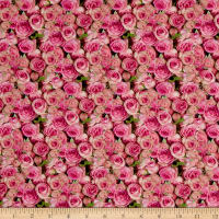 Stof France French Fantaisy Rosea Multi
