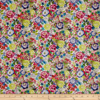 Stof France French Fantaisy Rosebud  Multi