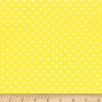 Timeless Treasures Polka Dot Lemon