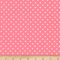 Timeless Treasures Polka Dot Bubblegum