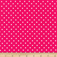Timeless Treasures Polka Dot Magenta