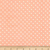 Timeless Treasures Polka Dot Peach