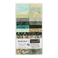 "Timeless Treasures Tonga Batik Treat Spa Day 2.5"" Strip Pack Spa Day"