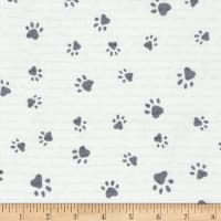 Timeless Treasures Pups & Paws Paw Prints Stone