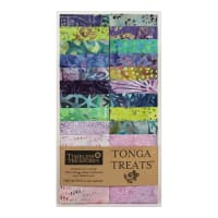 "Timeless Treasures Tonga Treats Batik 2.5"" Strip Pack Gecko"