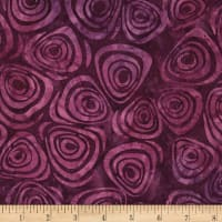 Timeless Treasures Tonga Batik Orchid Swirls Purple