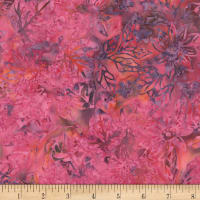 Timeless Treasures Tonga Batik Orchid Disco Lotus