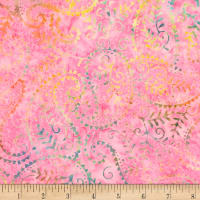 Timeless Treasures Tonga Batik Unicorn Paisley Sparkle