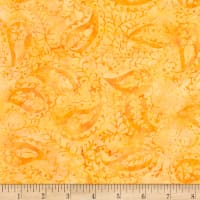 Timeless Treasures Tonga Batik Unicorn Paisley Apricot