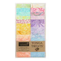 "Timeless Treasures Tonga Batik Treat Unicorn 2.5"" Strip Pack Unicorn"