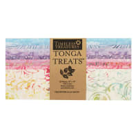 "Timeless Treasures Tonga Batik Treat Unicorn 10"" Square Pack Unicorn"