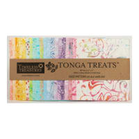 "Timeless Treasures Tonga Batik Treat Unicorn 5"" Square Pack Unicorn"