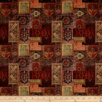 Stof France Le Quilt Orient Express Brown