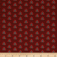 Stof France Le Quilt Orient Express Floral Red