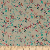 Stof France Le Quilt Printemps Floral Multi