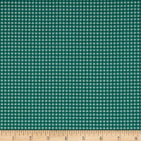 Stof France Le Quilt Printemps Plaid Green