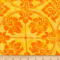 Timeless Treasures Tonga Batik Rio Wallpaper Citrus