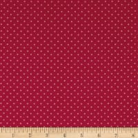 Stof France Le Quilt Printemps Polka Dot Fuchsia