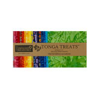 "Timeless Treasures Tonga Batik Treat 5"" Square 40 Pcs Rio"