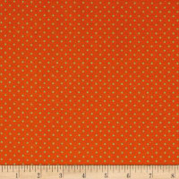 STOF France Le Quilt Petits Lapins Polka Dot Orange