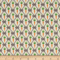 STOF France Le Quilt Petits Lapins Lattice Orange