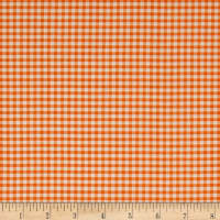 Stof France Le Quilt Petits Lapins Plaid Orange
