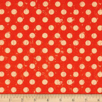 STOF France Le Quilt Safari Foto Polka Dot Orange