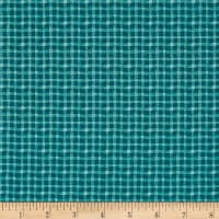 Stof France Le Quilt Safari Foto Plaid  Turquoise