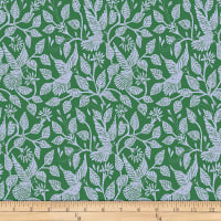 "Amy Butler 108"" Wide Back Night Music Stitched in Flight Fern"
