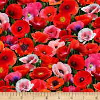 Poppies Main Green