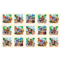 "Beach Selfies 24"" Pets Allover Panel Cream"