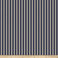 Morris & Co Kelmscott Gilt Stripe Navy