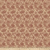 Morris & Co Merton Chrysanthemum Toile Red