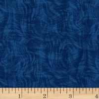 Impressions Moire Royal Blue