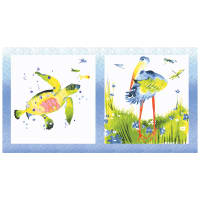 "Lakeside Fun 24"" Panel White"