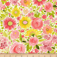Fresh Picked Floral Multi Pastel