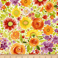 Fresh Picked Floral Multi Color