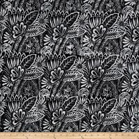 Fresh Batiks Botanica 4 Black