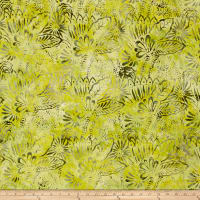 Fresh Batiks Botanica 4 Light Olive