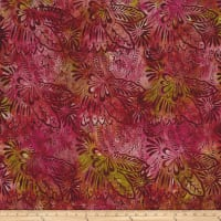 Fresh Batiks Botanica 4 Multi Color