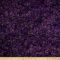 Fresh Batiks Botanica 4 Dark Purple