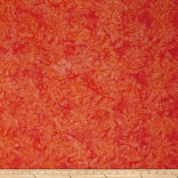 Fresh Batiks Botanica 4 Orange