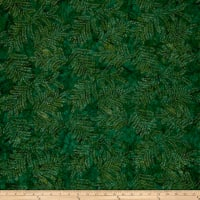 Fresh Batiks Botanica 4 Dark Teal
