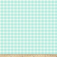 Kiss Goodbye Dainty Plaid Mint